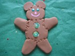 OOAK Fimo Clay Sculpture Teddy Bear